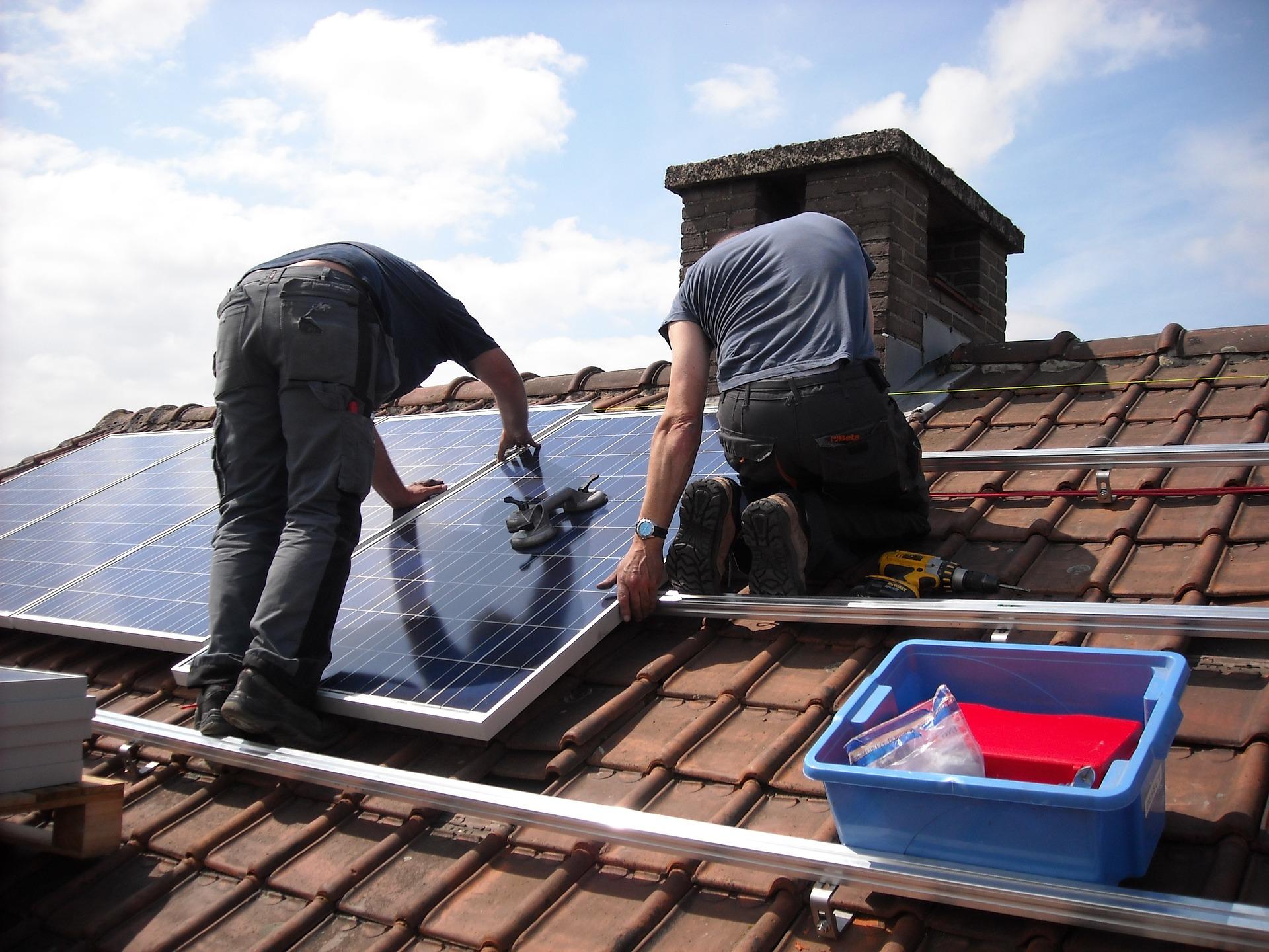 solárne panely umiestnenie