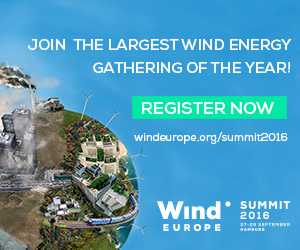 WindEurope Summit 2016